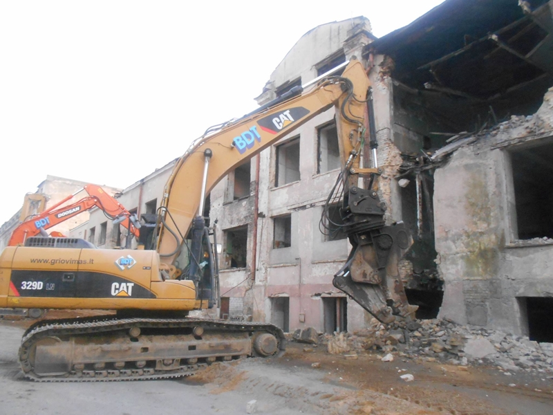 Gentrification 2015: destroying of the Soviet electric factory