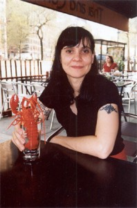 terri-with-lobster-by-ira-cohen