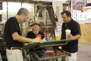 David Meltzer, Dave Brinks and Roger Kamenetz