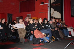 The audience at the ROCKPILE, Gershwin Hotel, performance