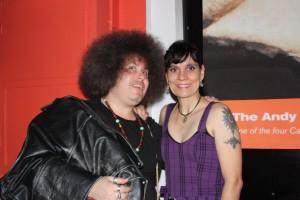 Avi (aka) Evan Frishman and Terri Carrion