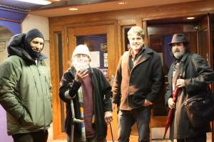 Dan Godston, David Meltzer, Larry Sawyer and Michael Rothenberg